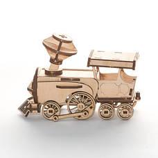 "Дерев'яний конструктор 3D пазл ""Поїзд"", фото 2"