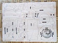 "Дерев'яний конструктор 3D пазл ""Поїзд"", фото 3"