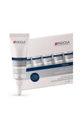 Сыворотка для стимуляции роста волос Indola Innova Specialists Hairgrowth Lotion 8x7мл