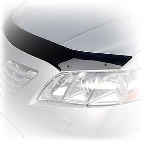 Дефлектор капота (мухобойка) Volkswagen Amarok, 2010-, темный