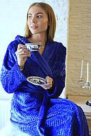 Халаты банные махровые с капюшоном, размеры M L XL XXL до 52 размера, фото 1
