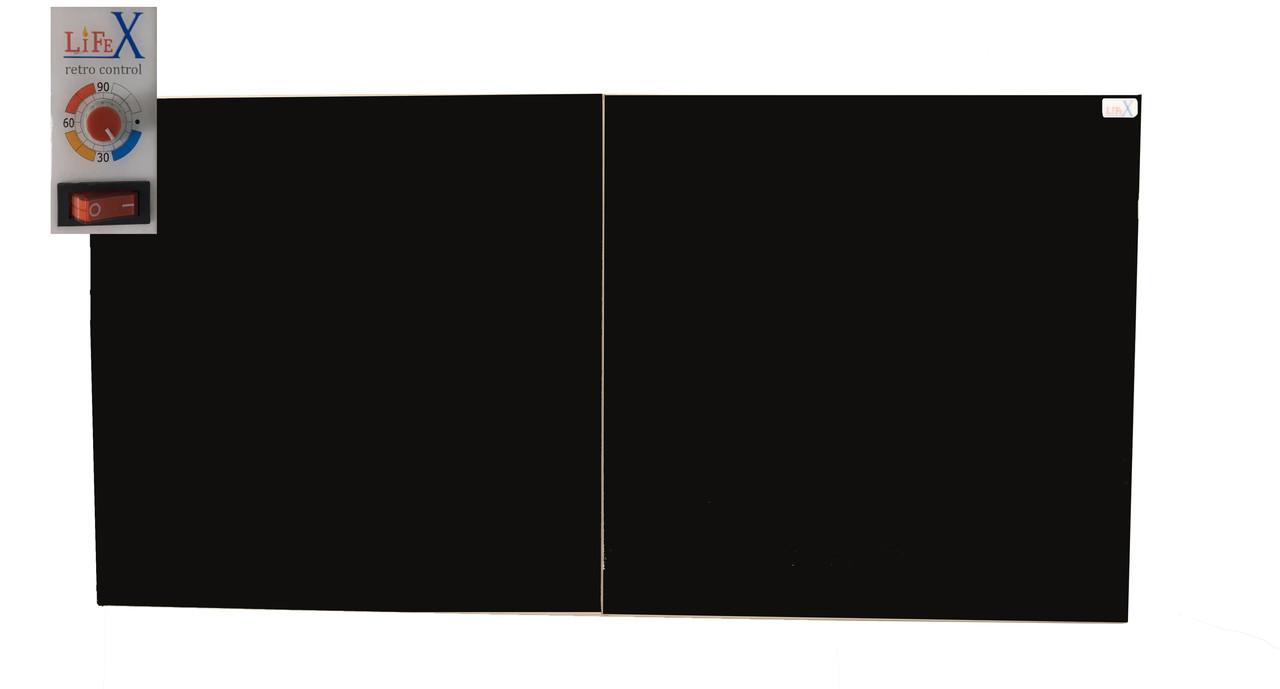 Керамическая электропанель LIFEX КОП800R (черный)