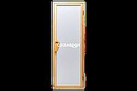 Двери для бани и сауны Tesli UNO Diamant 1900 х 700, Дверь стеклянная, Украина, 70/190