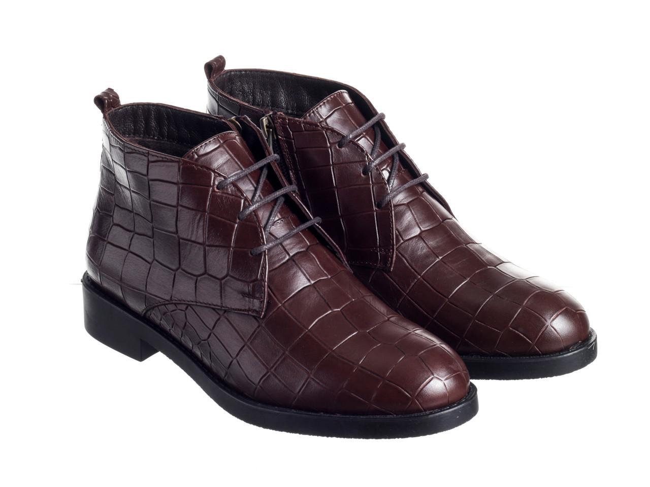 Ботинки Etor 7390-1061 коричневые