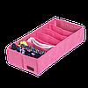 Коробочка для носочков/колгот/ремней ORGANIZE (розовый), фото 4