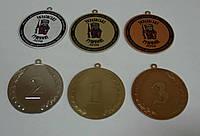 Медаль с полноцветной накладкой