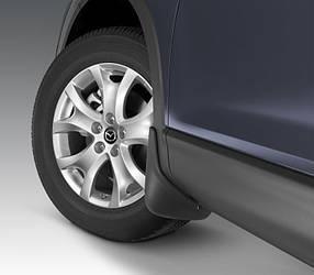 Брызговики передние для Mazda CX-9 2006-2016 оригинальные 2шт TD11-V3-450F