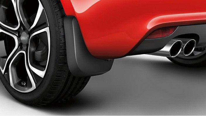 Брызговики задние для Ауди, Audi A1 (2011-2014) оригинальные 2шт 8X0075101
