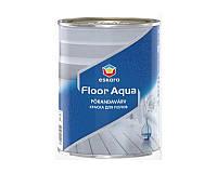 Эмаль акриловая ESKARO FLOOR AQUA для деревянных и бетонных полов белая - база A 0,9л