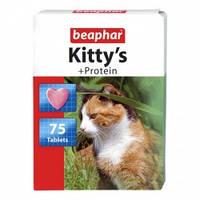 Витамины для кошек Beaphar Kitty's Protein (Беафар Китти'с Протеин) 75 шт