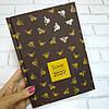 Ежедневник дат. 2020 SAVE, A5, 336 стр., т.-коричневый