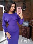 Женское платье-футляр приталенное (в расцветках), фото 6