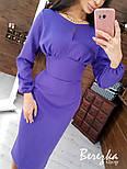 Женское платье-футляр приталенное (в расцветках), фото 7