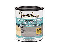 Акселератор синтетический VARATHANE WEATHERED WOOD для искусственного старения древесины 0,946л