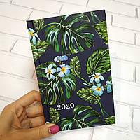 Ежедневник дат. 2020 FANCY, A6, 336 стр., т.-синий, фото 1