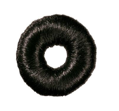 Вкладка-бублик Comair волосяной, Ø 9 см, черный