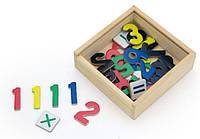 Набор магнитов Цифр Viga toys 37 шт. (50325)