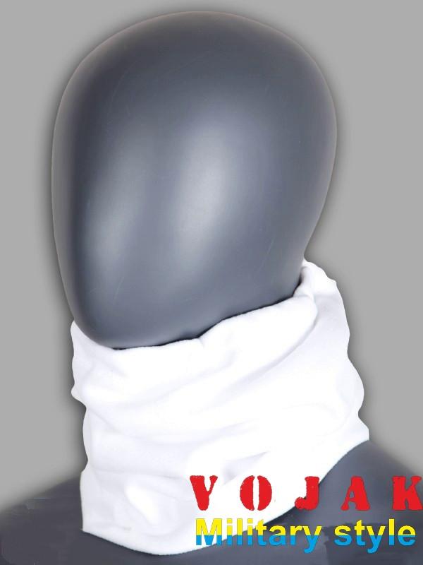 Бафф флисовый зимний с утяжкой (White)