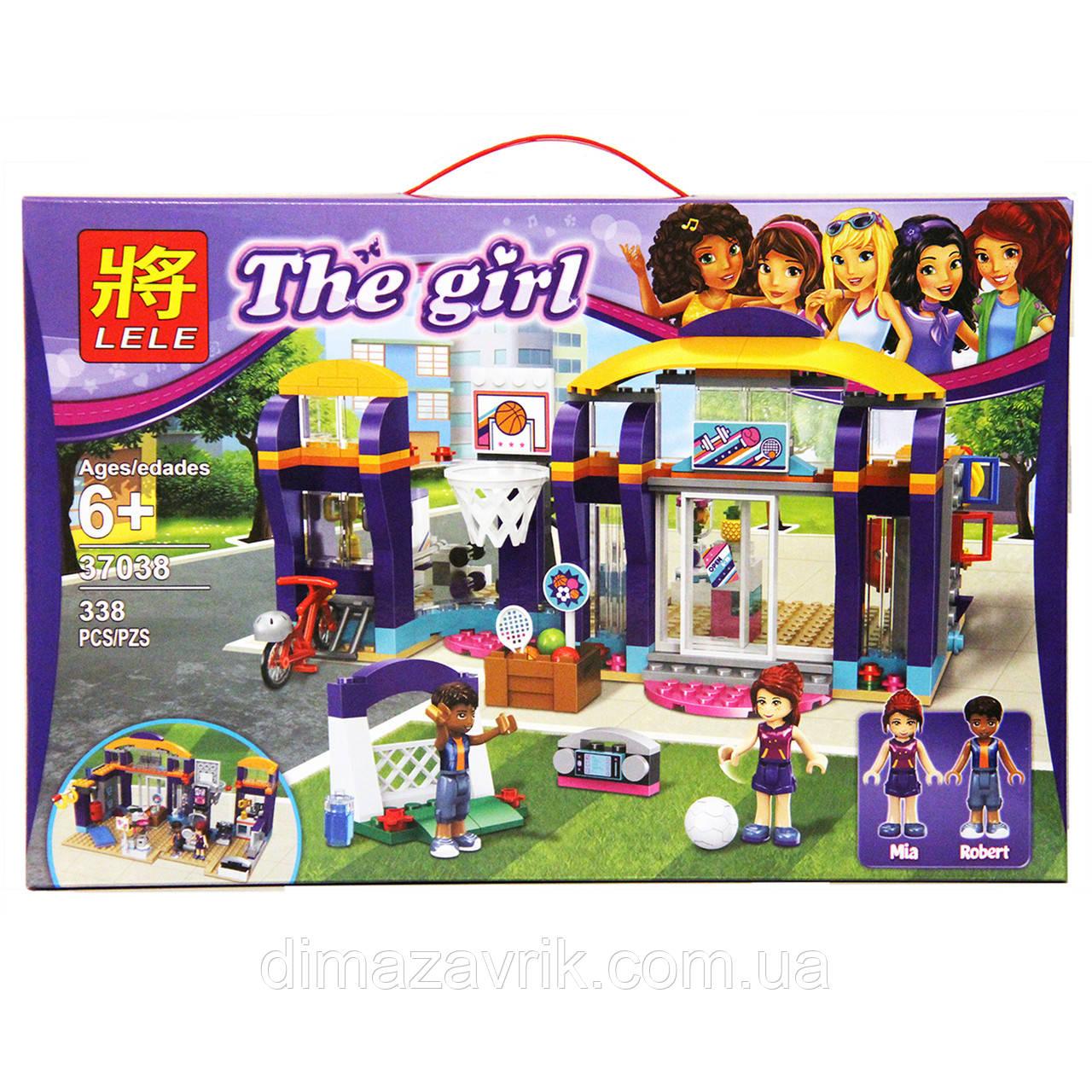 "Конструктор Lele 37038 (Аналог Lego Friends 41312) ""Спортивный центр"" 338 деталей"