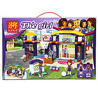 "Конструктор Lele 37038 (Аналог Lego Friends 41312) ""Спортивный центр"" 338 деталей, фото 1"