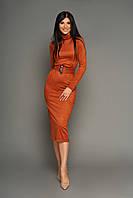 Изящное и женственное платье-миди  в 5ти цветах JD Лорейн