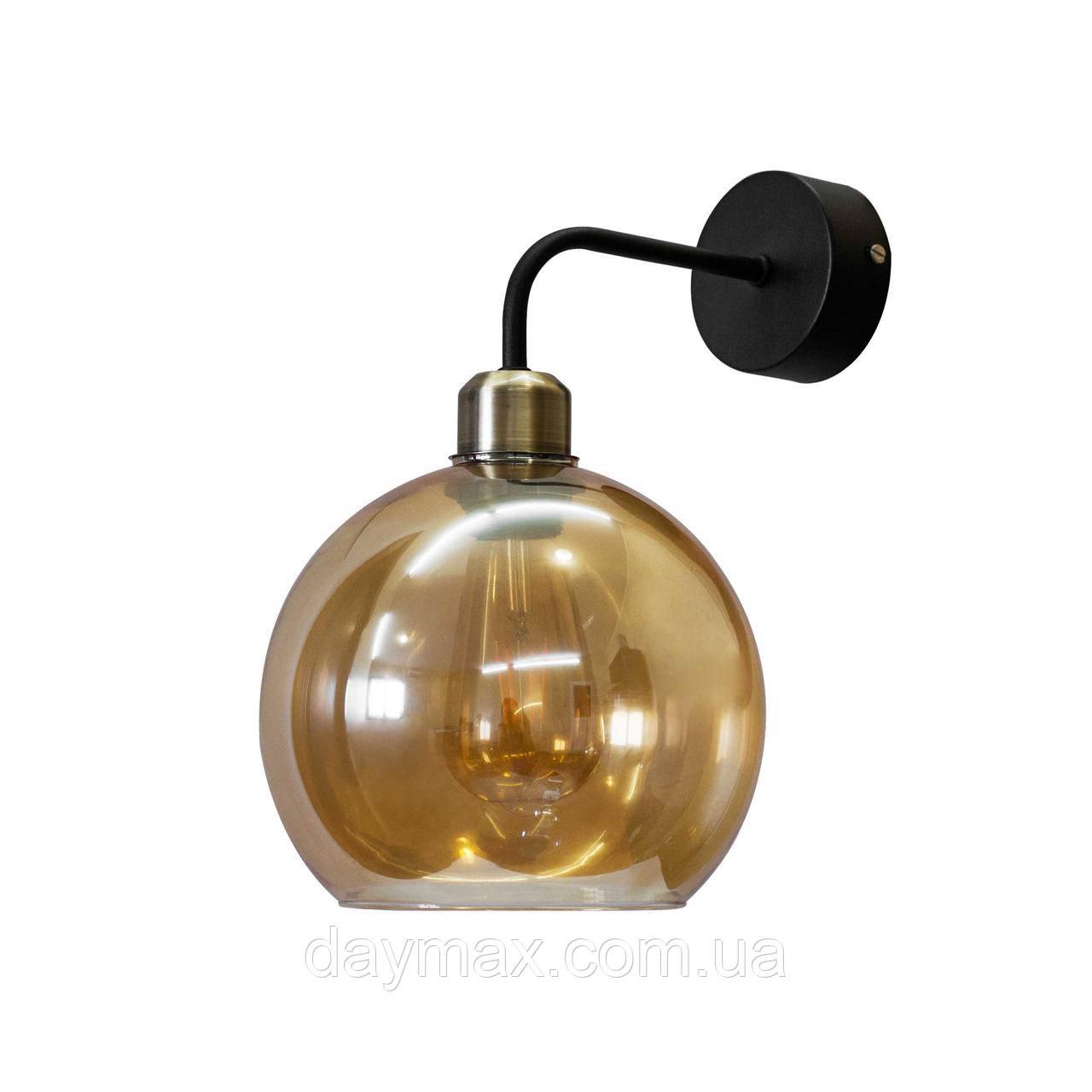 Бра  в стиле лофт  Стеклянный шар  LS 5132-1