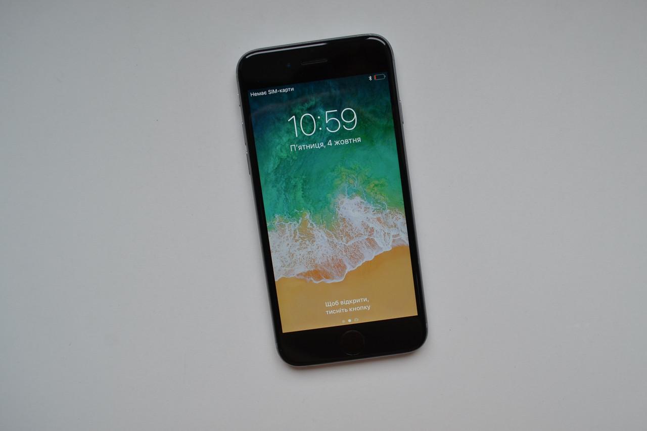 Apple Iphone 6 16Gb Space Gray Neverlock Оригинал!