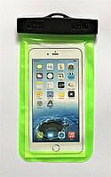Водонепроникний чохол для смартфона 160х90мм з пластиковим фіксатором, фото 1