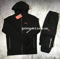 Теплый мужской спортивный костюм Puma BMW Motosport Cold