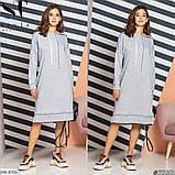 Стильное  платье  (размеры 50-60) 0209-91, фото 3