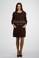 Пальто шерстяное  - 03040 длина 90 см