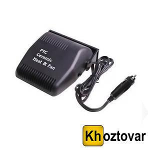 Автомобильный тепловентилятор Car Fan 701| Обогреватель салона авто