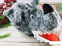 Шапка детская карнавальная Волк, фото 1
