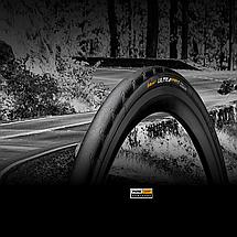 "Покрышка Continental Ultra Sport II, 28"" |700x23C, 23-622, Wire, PureGrip, Performance, Skin, 330гр., фото 3"