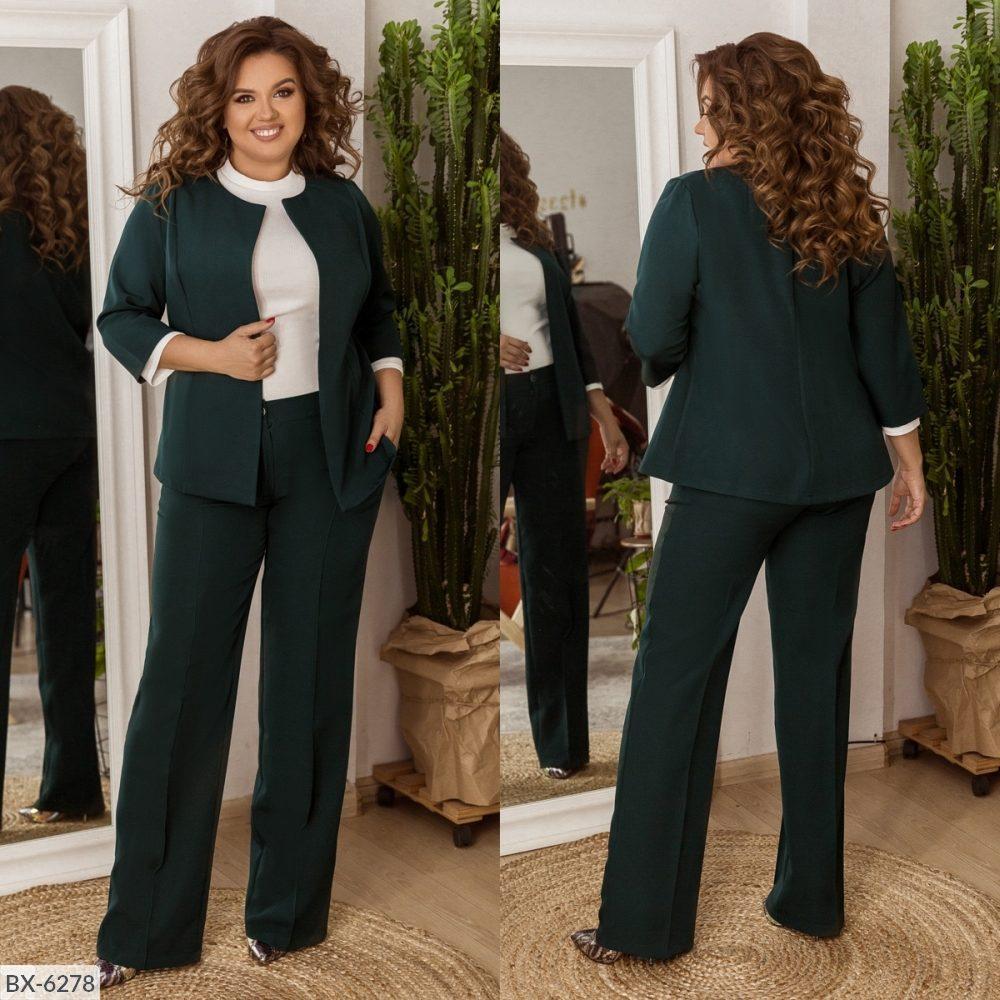 Стильный костюм    (размеры 48-58) 0209-95