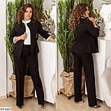 Стильный костюм    (размеры 48-58) 0209-95, фото 4