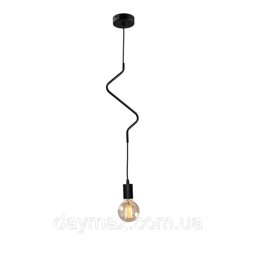Світильник підвісний на одну лампу MSK Electric NL 1442 ZIGZAG