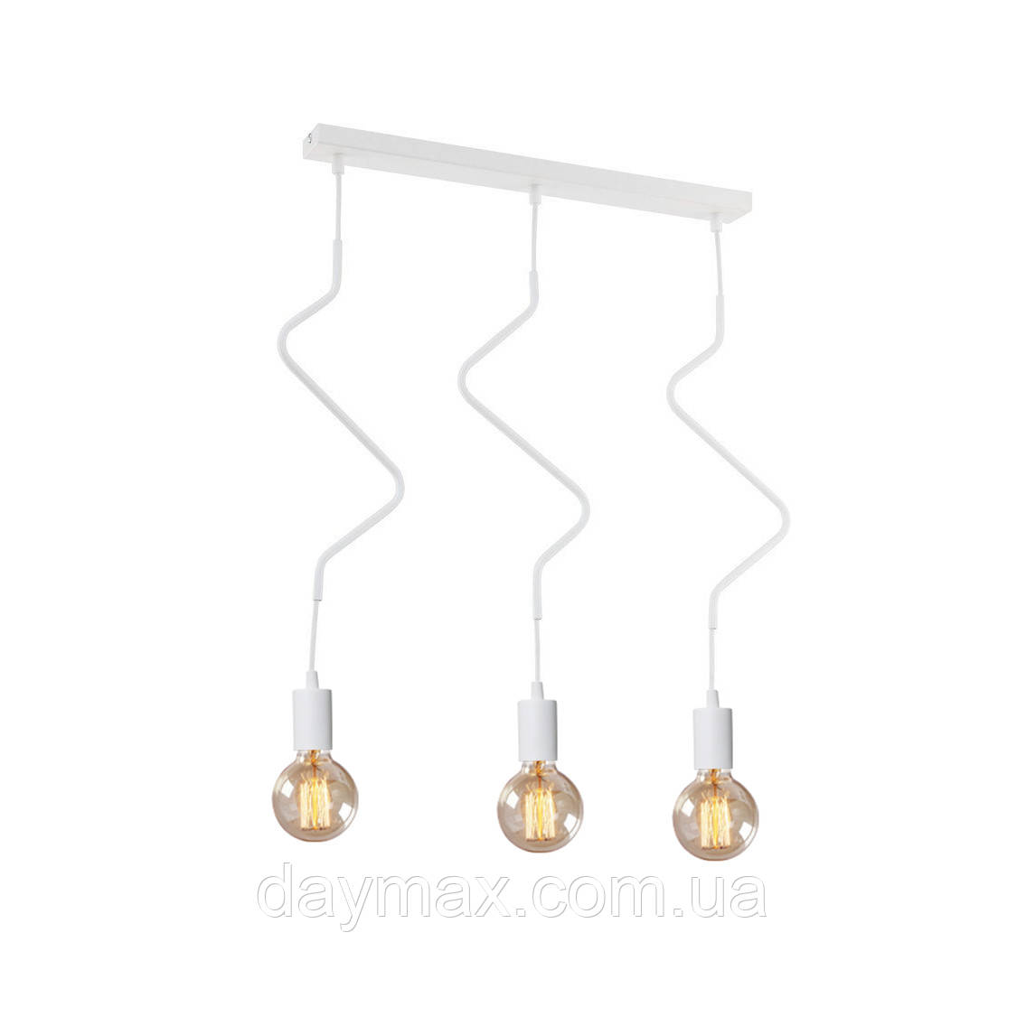 Светильник подвесной на три лампы MSK Electric NL 1442-3W  ZIGZAG