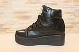 Ботинки женские черные Д416, фото 2