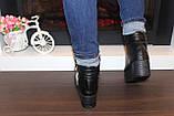 Ботинки женские черные Д416, фото 3