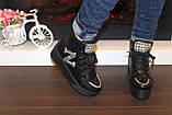 Ботинки женские черные Д416, фото 4