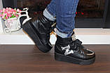 Ботинки женские черные Д416, фото 5