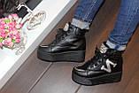 Ботинки женские черные Д416, фото 6
