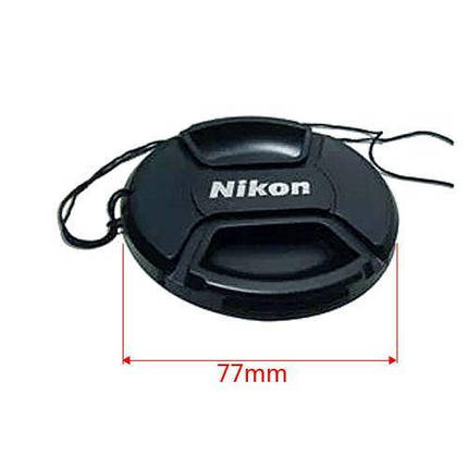 Крышка для объектива Nikon Lens Cap LC-77mm, фото 2