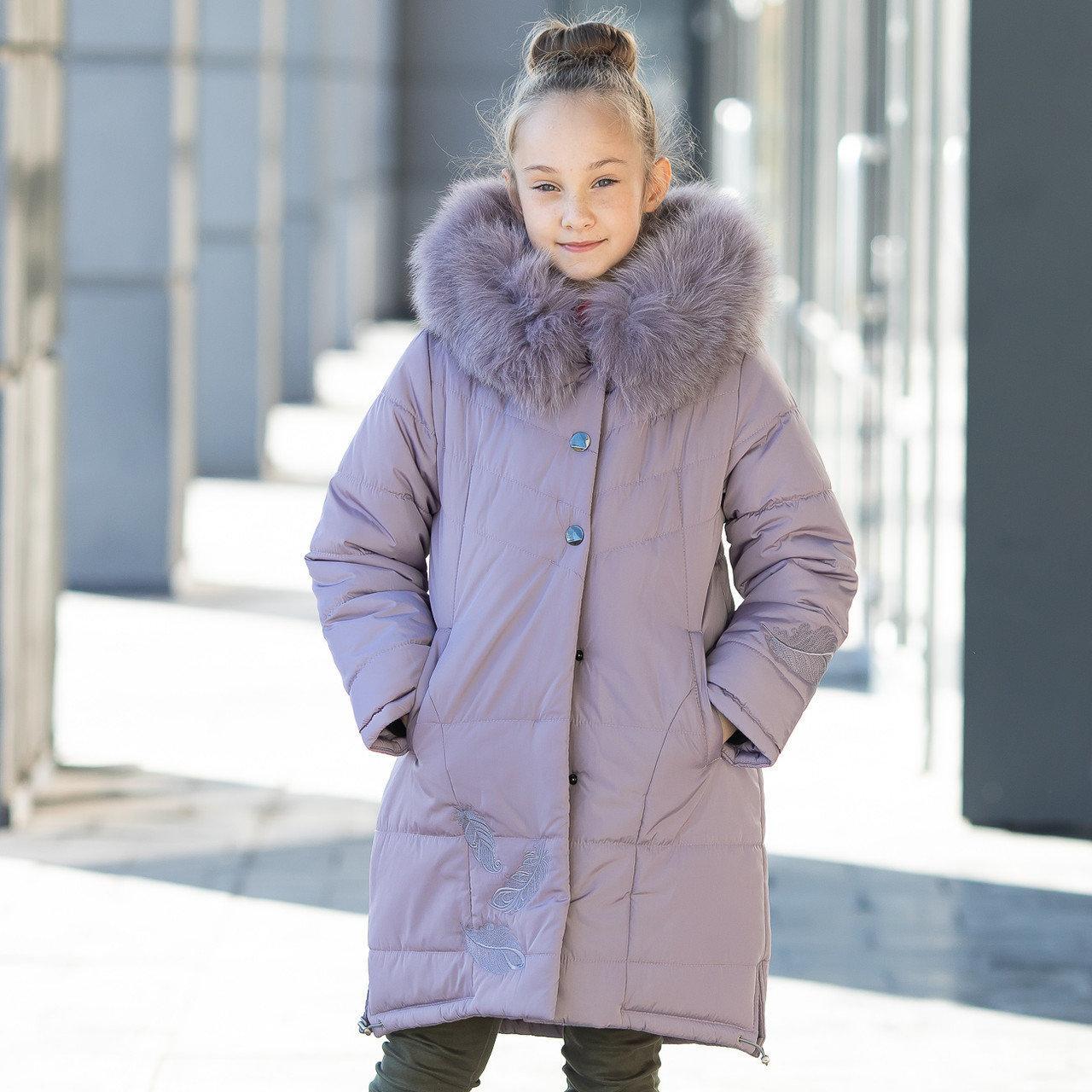 Зимова куртка для дівчинки «Шарм» , р-ри 36 - 42