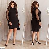 Стильное  платье  (размеры 48-58) 0209-97, фото 2