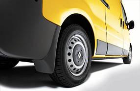 Брызговики задние для Renault Trafic (01-14) оригинал 2шт7711218337