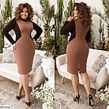 Стильное  платье  (размеры 48-58) 0209-98, фото 2