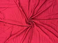 Кулир красный. Вискозная ткань. Футболочный трикотаж.