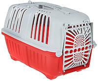 Переноска для кішок і собак PRATIKO 1 PLASTIC, 48х31,5х33 см MPS